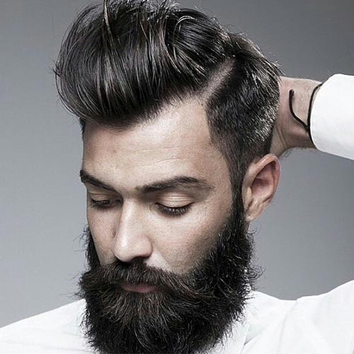 hair salon - highlight salon groomed beards for him - HAIR SALON, THE BEST IN DUBAI