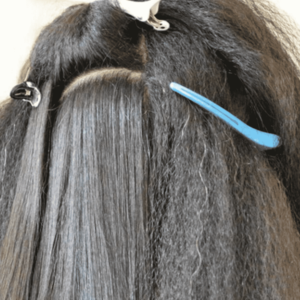 WHAT IS THE PROCESS OF HAIR REBONDING?