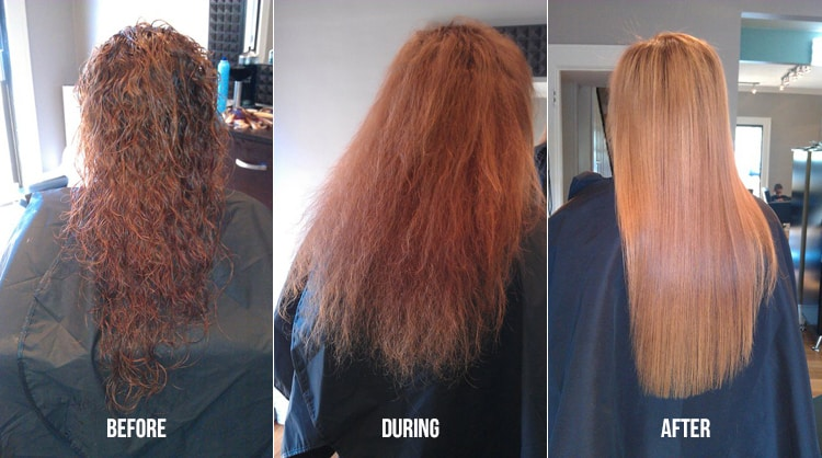 Know CemSim: keratin hair treatment before and after pictures